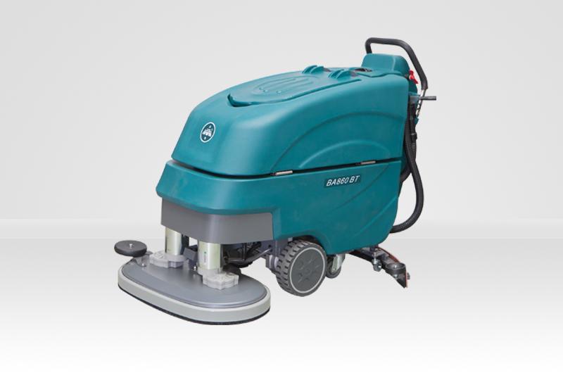 BA860BT雙刷電瓶式全自動洗地機