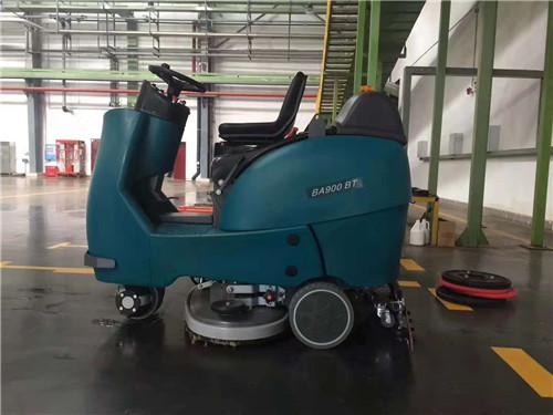 駕駛式洗地機BA900BT進駐中國煙草行業