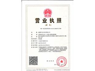 四川醋酸乙酯榮譽資質
