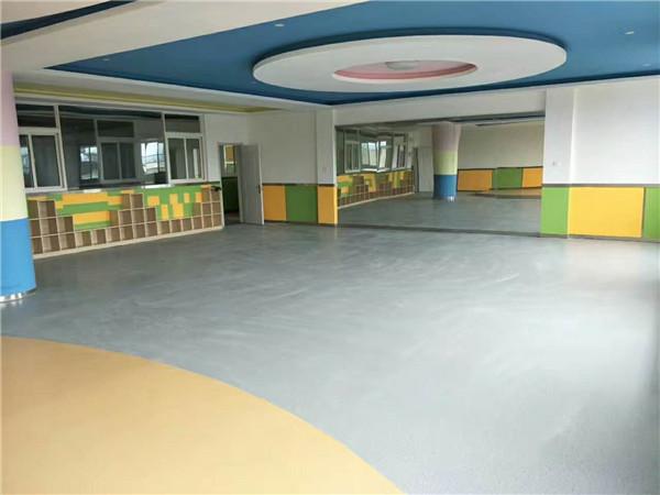 紡織城晨光幼兒園采用西安塑膠地板