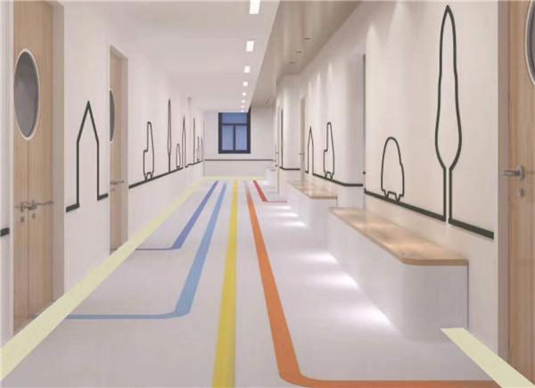 西安塑膠地板施工
