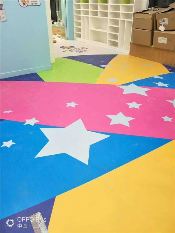西安塑膠地板廠家-兒童塑膠地板