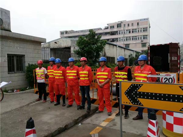 陝西非開挖管道案例展示