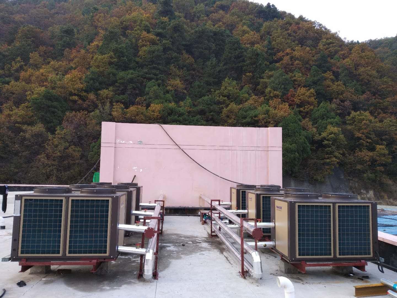 銅川40噸生能空氣能熱水項目