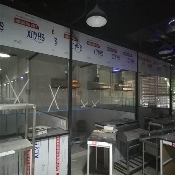 西安鴕鳥王巨漢廣場二樓排煙係統
