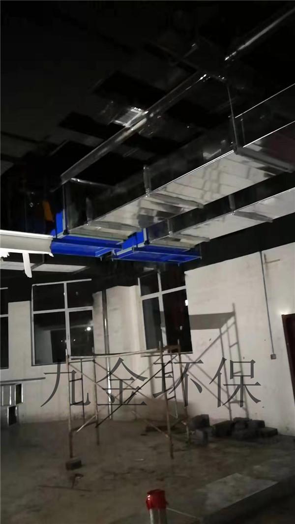 濟南市長清區清河街(巴興火鍋地排風施工案例)