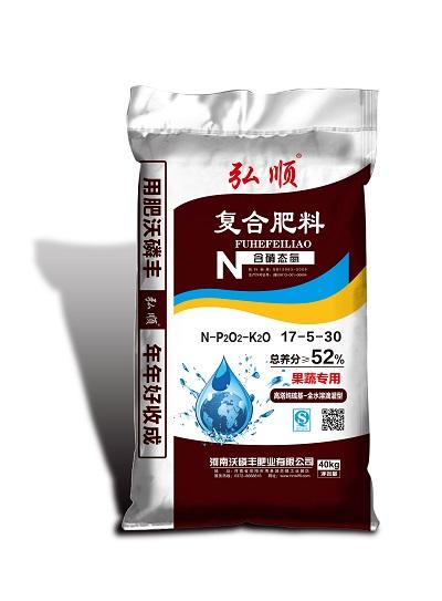 含硝态氮复合肥