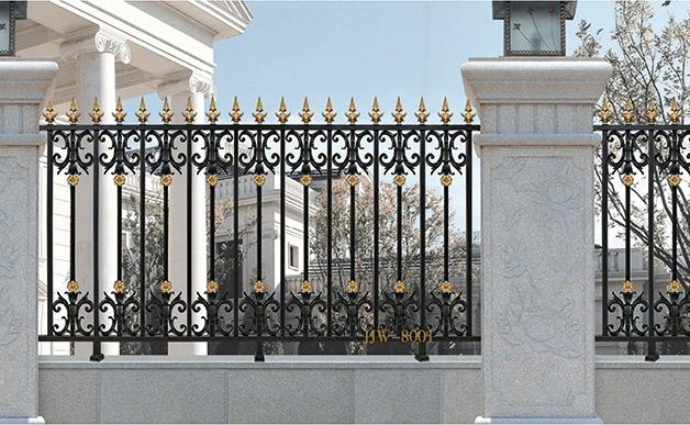 成都铝艺庭院围栏生产