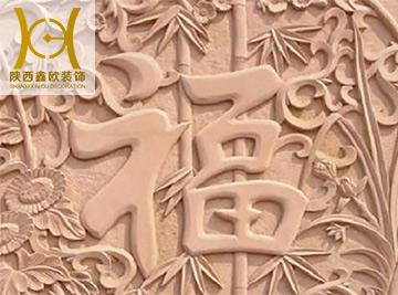 西安GRC浮雕山花
