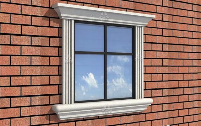 EPS线条窗套